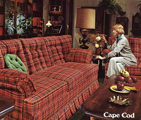 Ok so maybe the sofa was added in the 70 s judging from that woman