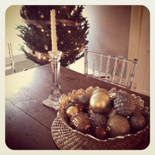 xmas- breakfast table