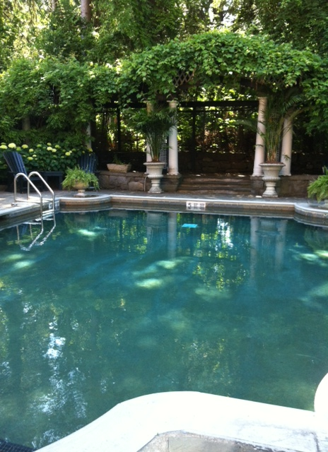 Prettiest pool in town.