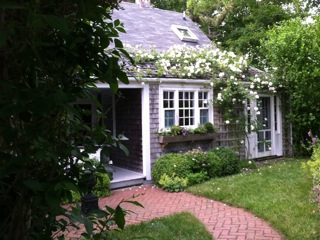 Nantucket Rose Door