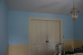 Here is my dining room before...