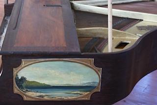 Esmond Piano Detail