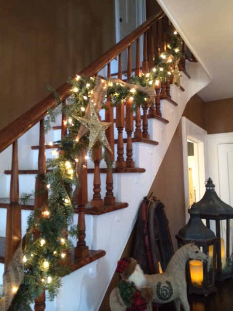 xmas- billy's bannister 2