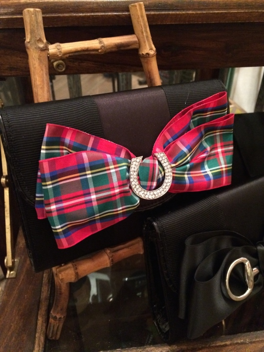 Plaid and a little bling... what's not to like?