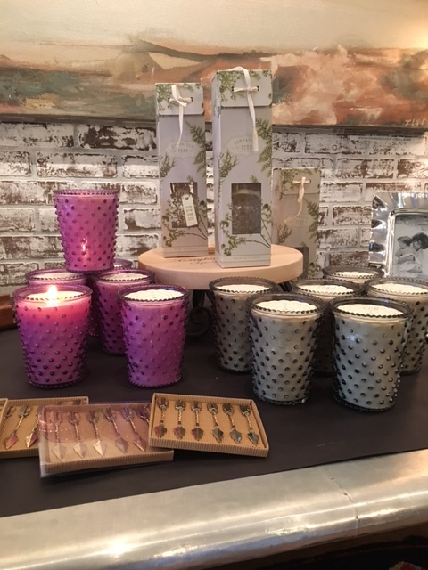 New Hobnail candles in Lilac (our new fave!), Fern, and Ambergris. We also have the diffusers in Fern, for those that prefer a flawless scent.